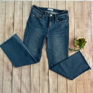 Loft Cropped Vintage Straight Jeans